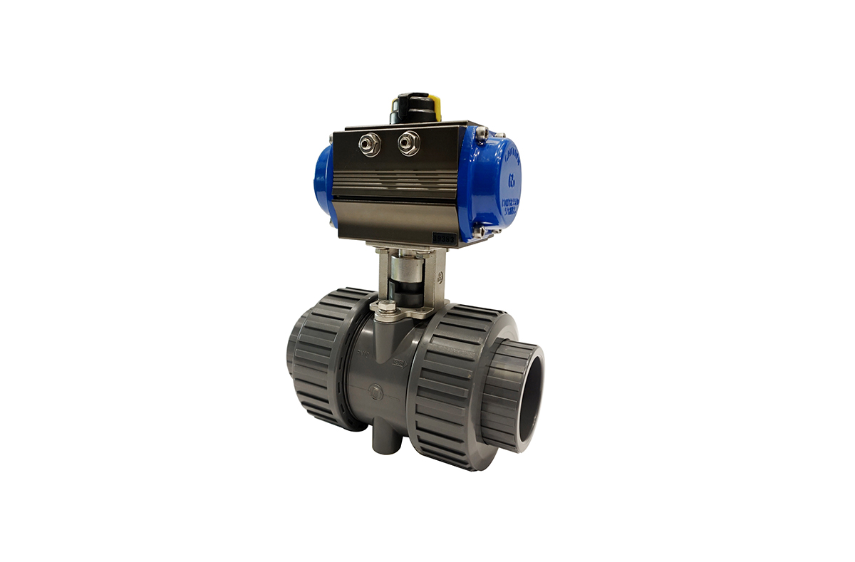 DOUBLE UNION BALL VALVE(Pneumatic / Electric)